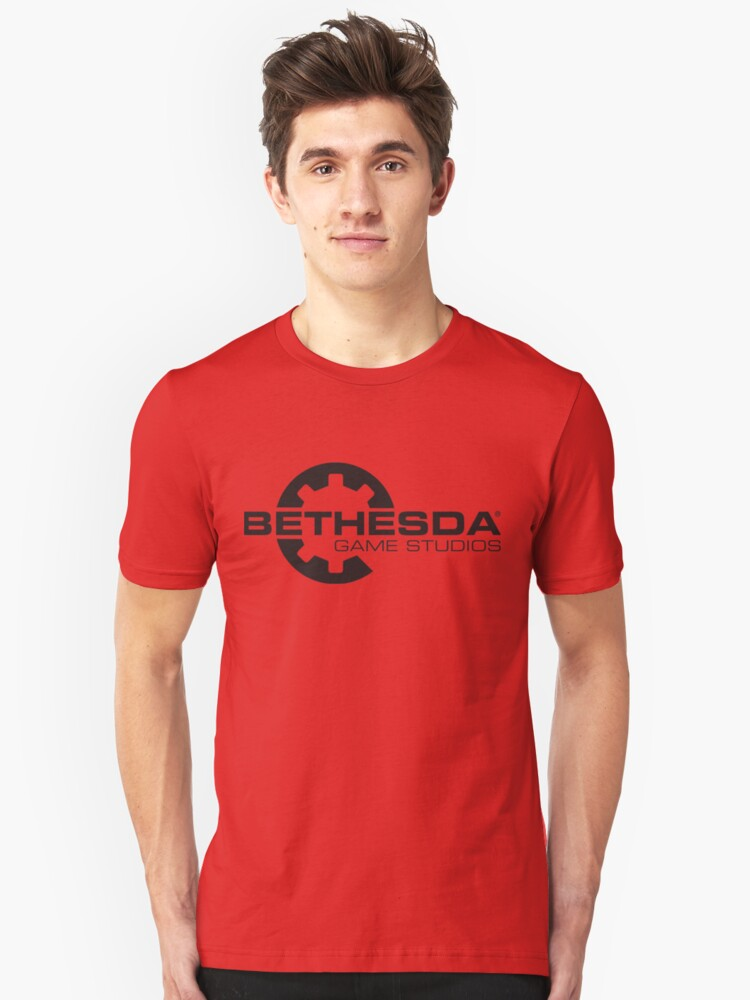 Dishonored: Death of the Outsider (BETHESDA LOGO) Unisex T-Shirt Front
