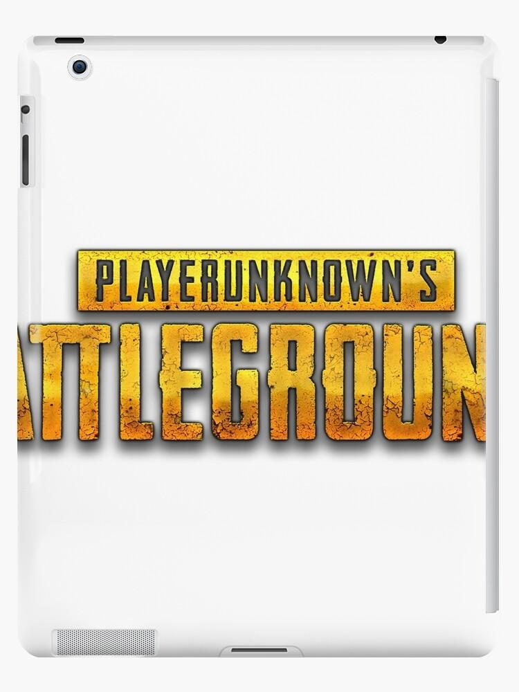 'Player's Unknown Battleground - Logo Design' iPad Case/Skin by Withice