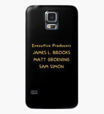 Funda/vinilo para Samsung Galaxy The Simpsons closing credits