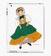 Rhone-Alpes folk costume iPad Case/Skin