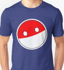 Polandball | Countryball Unisex T-Shirt