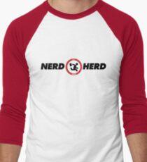 Chuck Nerd Herd Men's Baseball ¾ T-Shirt