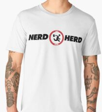 Chuck Nerd Herd Men's Premium T-Shirt