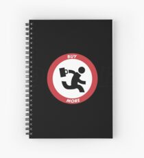 Chuck Nerd Herd Spiral Notebook