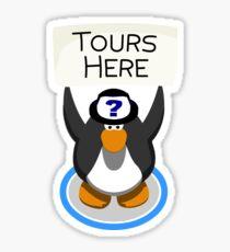 Tour Penguin  Sticker