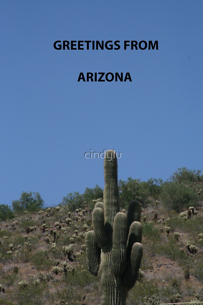 Greetings from Arizona by cindylu
