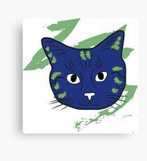 Cat sketch 5 Canvas Print
