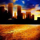 Sydney Skyline by malcblue