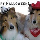Halloween Cowpokes by Jan  Wall