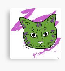 Cat sketch 6 Canvas Print