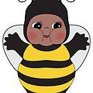 Chubby Bee Kewpie by Natalie Perkins