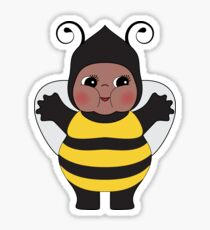 Chubby Bee Kewpie Sticker