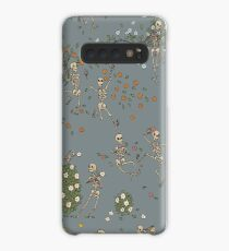 Skeletons with garlands Case/Skin for Samsung Galaxy