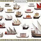 Medieval Ships by TheCollectioner