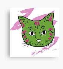 Cat sketch 8 Canvas Print