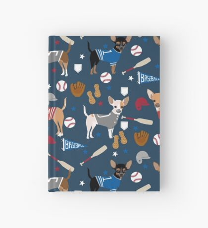 Chihuahua sports fan dog athlete chihuahuas dog breed gifts pet friendly Hardcover Journal