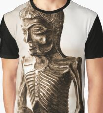 At Peace with Buddha Graphic T-Shirt