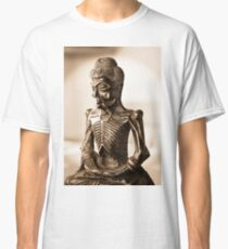 At Peace with Buddha Classic T-Shirt