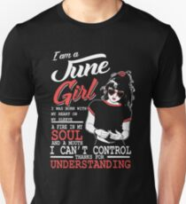 I'm a June girl t-shirt T-Shirt