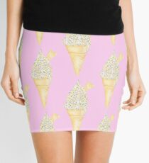 Soft Serve with Sprinkles - Pink Mini Skirt