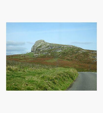 Somewhere on Dartmoor, South Devon, England Photographic Print