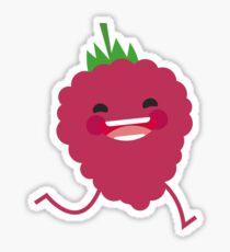 fruit rasberry pearl Sticker