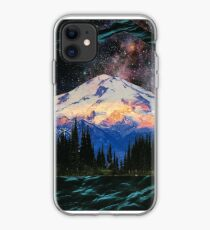 Winter light Village Russia iphone case