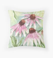 Daisies for healing Throw Pillow