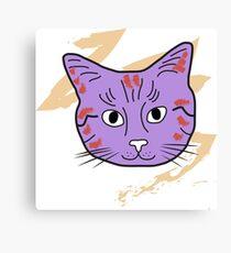 Cat sketch 12 Canvas Print