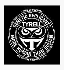 Tyrell Corporation - Black Photographic Print
