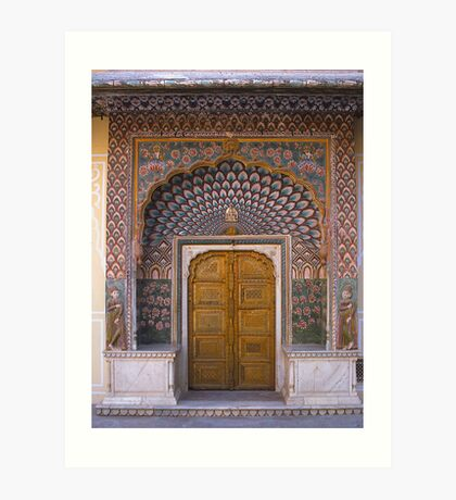 Indian Doorway Art Print