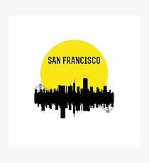 San Francisco Skyline Photographic Print