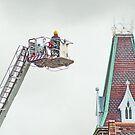 Fireman at Work by AnnDixon