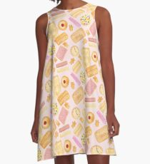 Biscuits In Bed A-Line Dress