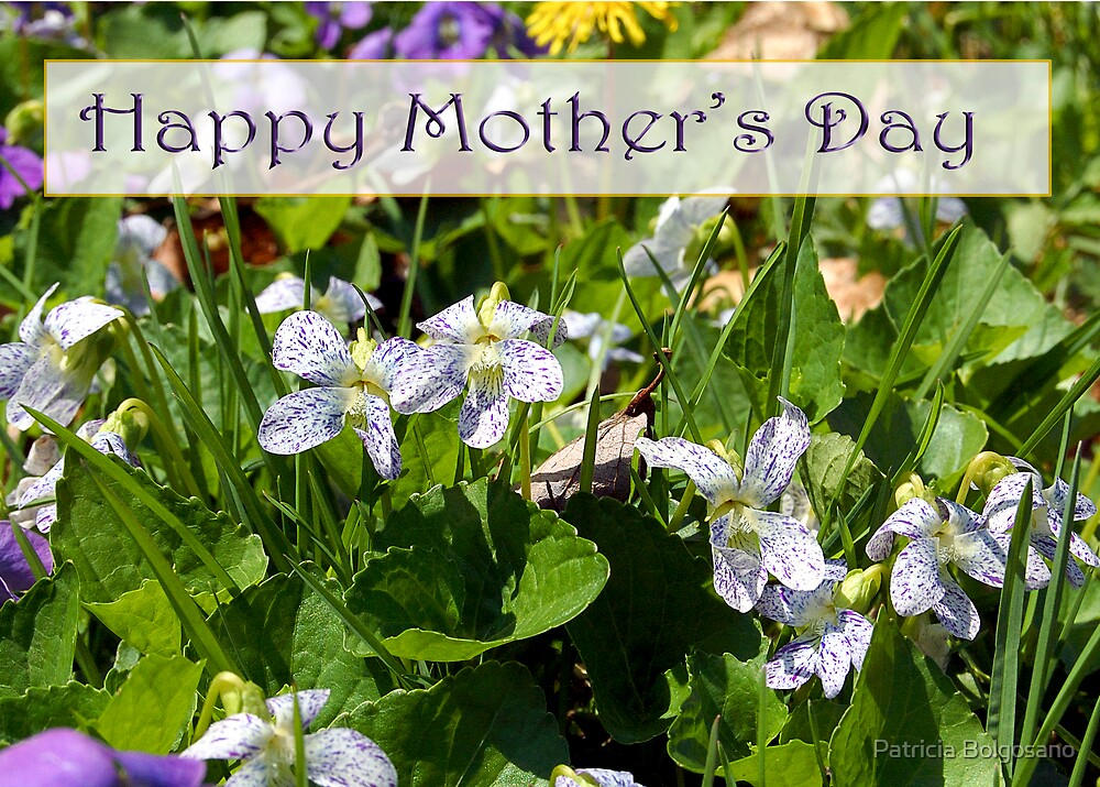 Happy Mother's Day by Patricia Bolgosano