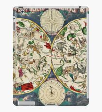 Celestial, Map, from the golden age of, Netherlandish, cartography, by the Dutch cartographer Frederik de Wit. iPad Case/Skin