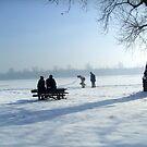 Winter idyll... by Ana Belaj