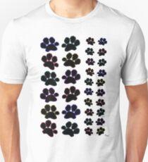 Paw Prints Pattern T-Shirt