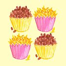 Chocolate Crackles & Honey Joys by makemerriness