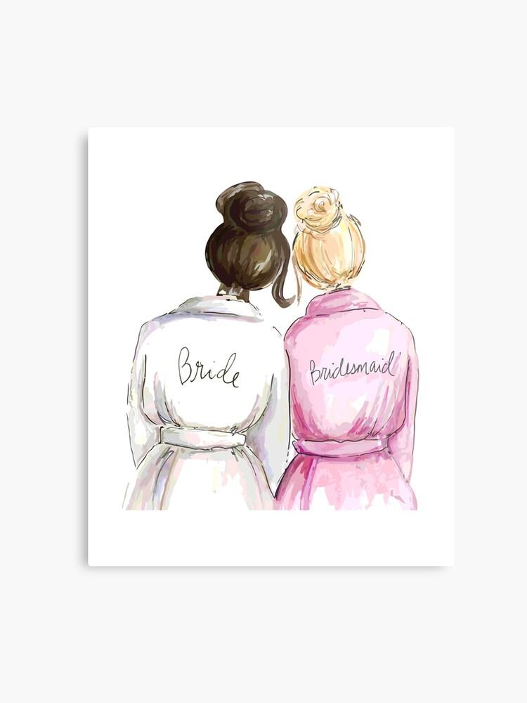 Cadeaux De Mariage Cadeaux De Mariage Meilleur Cadeau De Fiancailles Mignon Pour Elle Mariee Demoiselle D Honneur Femme Meilleur Ami Ou Sœur