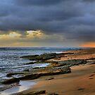 Ke'e Beach - A Different View by DJ Florek