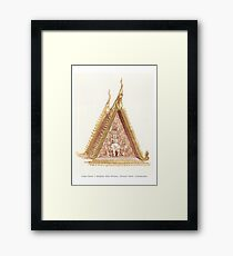 Arivata @ Lady Penh's temple Framed Print