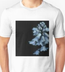 Bell Flowers On Black Background T-Shirt