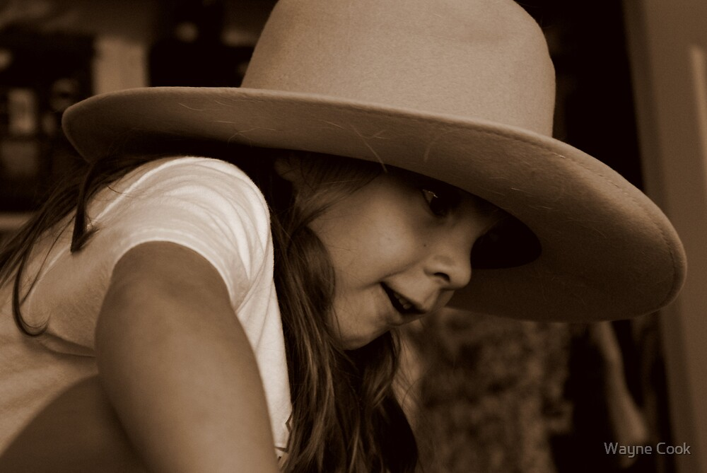 Annie Oakley?  Oh, come one AJ! by Wayne Cook