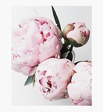 Flowers print, Scandinavian, Peony, Fashion print, Scandinavian art, Modern art, Wall art, Print, Minimalistic, Modern Photographic Print