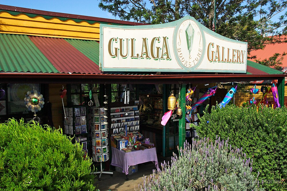 Gulaga Gallery at Central Tilba by Darren Stones