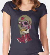 Rotting Zombie Man Women's Fitted Scoop T-Shirt