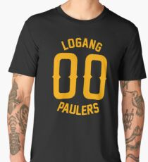 LOGANG 00 ORANGE Men's Premium T-Shirt