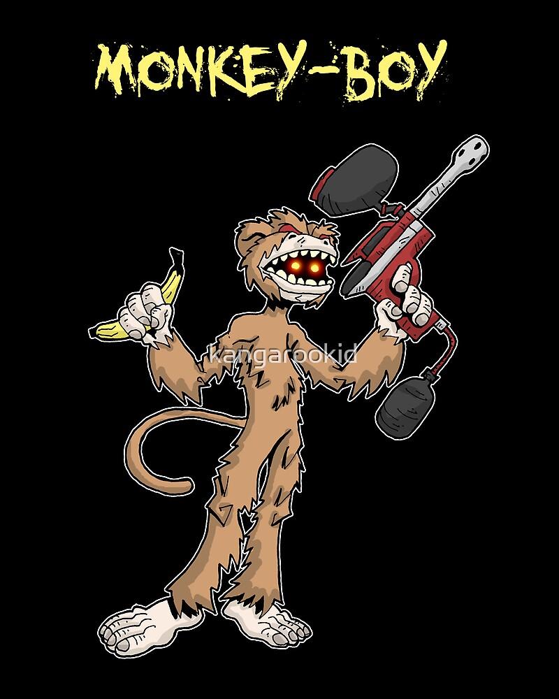 monkey-boy... by kangarookid