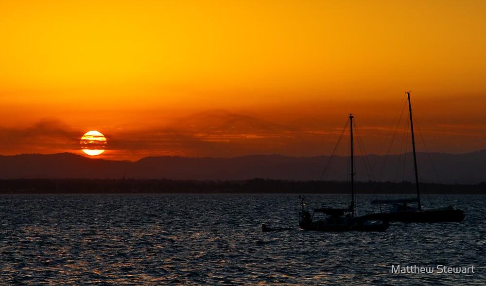 Scarborough Sunset 1 by Matthew Stewart